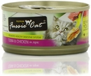 Fussie Cat Tuna and Chicken Cat Food (2.8 oz)