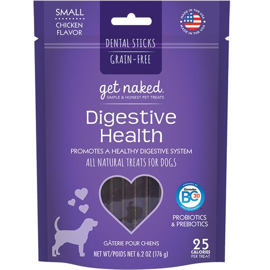 Get Naked Digestive Health Treats for Dogs Small (6.2 oz)