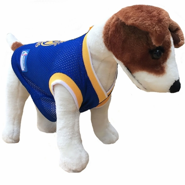 timeless design 0bc1a 83f39 Golden State Warriors Dog Jersey - Large