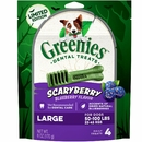 Greenies Scaryberry Dental Treats for Large Dogs, 4 Ct
