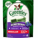 Greenies Scaryberry Dental Treats for Regular Dogs, 6 Ct