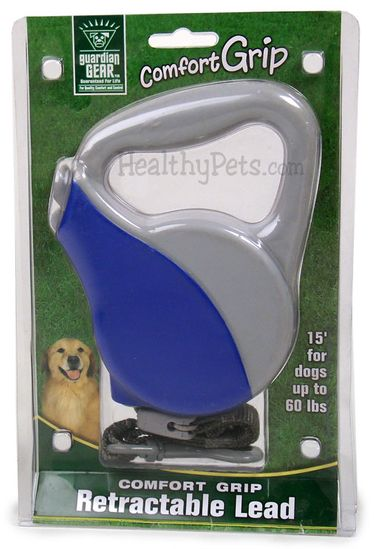 Guardian Gear Comfort Grip Retractable Leads - Blue / Grey UP TO 60 lbs.