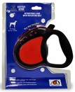 Guardian Gear Comfort Grip Retractable Leads - Red/Black UP TO 110 lbs.