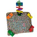 Happy Beaks Toy - Vine Mat Forage Pouch