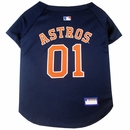 Houston Astros Dog Jersey - Small
