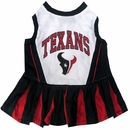 Houston Texans Cheerleader Dog Dress - Medium