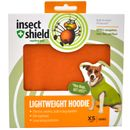 Insect Shield Lightweight Hoodie XSmall Orange