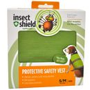Insect Shield Protective Safety Vest Small/Medium - Green