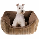 "JLA Pets Brutus Rectangular Cuddler - Multi (21x25"")"
