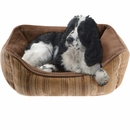 "JLA Pets Brutus Rectangular Cuddler - Multi (24x34"")"