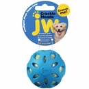 JW Pet Crackle Heads Crackle Ball Dog Toy - Large (Assorted)