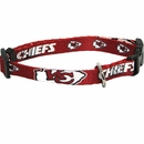 Kansas City Chiefs Dog Collars & Leashes