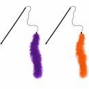 KONG Active Halloween Feather Teaser - Assorted Color