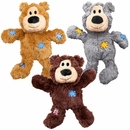 KONG Wild Knots Squeaker Bears Dog Toy - Medium/Large (Assorted)