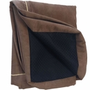 "LaiFug Orthopedic Memory Foam Replacement Pet Bed Cover - Chocolate (Medium 34""x22""x4"")"