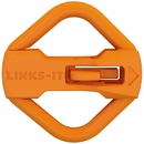 LINKS-IT Pet Tag Connector - Orange