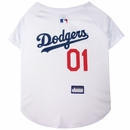 Los Angeles Dodgers Dog Jersey - Large
