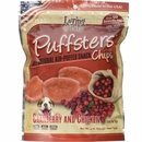 Loving Pets Puffsters Cranberry & Chicken Treats for Dogs (4 oz)