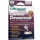 Merck Safeguard (fenbendazole) Canine Dewormer 3-pack (4 gm)