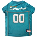 Miami Dolphins Dog Jersey - Small