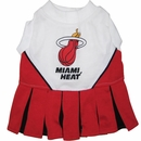 Miami Heat Cheerleader Dog Dress - Small