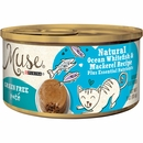 Purina Muse Natural Ocean Whitefish & Mackerel Cat Food Pate  (3 oz)