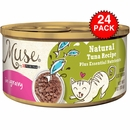 Muse Natural Tuna Cat Food in Gravy (24x3oz)