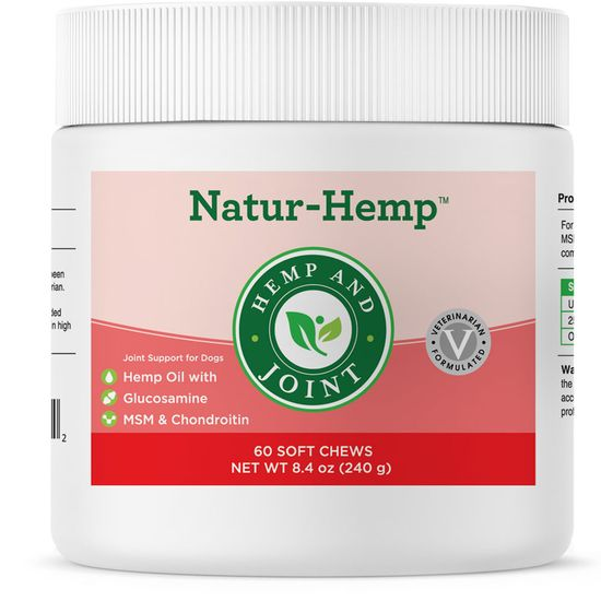 Natur-Hemp Hemp & Joint (60 Soft Chews)