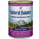 Natural Balance Limited Ingredient Diets Sweet Potato & Venison Dog Food (12x13 oz)