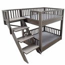 New Age Pet Bunk Bed for Dogs with Removable Cushions - Grey