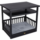 New Age Pet Dog Bed/Nightstand - Espresso