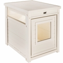 New Age Pet LitterLoo Litter Box Cover/End Table - Antique White