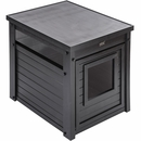 New Age Pet LitterLoo Litter Box Cover/End Table - Espresso