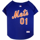 New York Mets Dog Jersey - Large