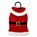 Otis & Claude Fetching Fashion Holiday Santa Sweater - X-Small