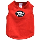 Pet Flys Happy Pirate Skull Tank Top - Small
