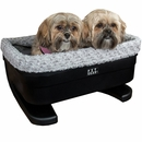 "Pet Gear 22"" Bucket Seat Booster With Fog Insert"