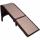 Pet Gear Free-Standing Extra Wide Supertrax Pet Ramp - Chocolate