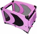 Pet Gear Home 'N Go Pet Pen 24x36 - Pink Ice