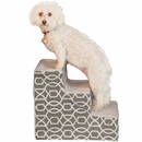 Pet Gear Trellis Print Designer Step III - Stormy Grey