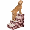 Pet Gear Trellis Print Designer Step IV - Dark Cranberry