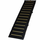 Pet Gear Tri-Fold Pet Ramp Reflective - Extra Wide (Black)