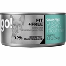 Petcurean Go! Fit + Free Cat Food - Chicken Turkey + Trout Stew (24x5.5oz)