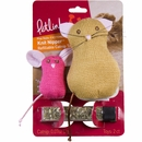 Petlinks Knit Nipper - Refillable Catnip Toy (2 pack)
