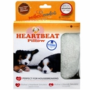 PetZu Mother's Comfort Heartbeat Pillow - Chocolate/White