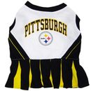 Pittsburgh Steelers Cheerleader Dog Dress - Small