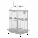 """Play Top Bird Cage with 1"""" Bar Spacing - White (40""""x30""""75"""")"""