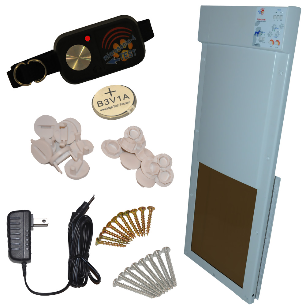 Power Pet Fully Automatic Pet Door Large Healthypets