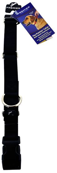 "Premier Quick Snap Collar - LARGE / Cartoon Black (1"")"