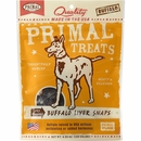 Primal Treats Dry Roasted Buffalo Liver Snaps (5 oz)